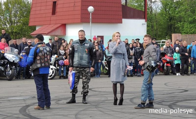 Байкеры поблагодарили Дмитрия Трухановича за шоу