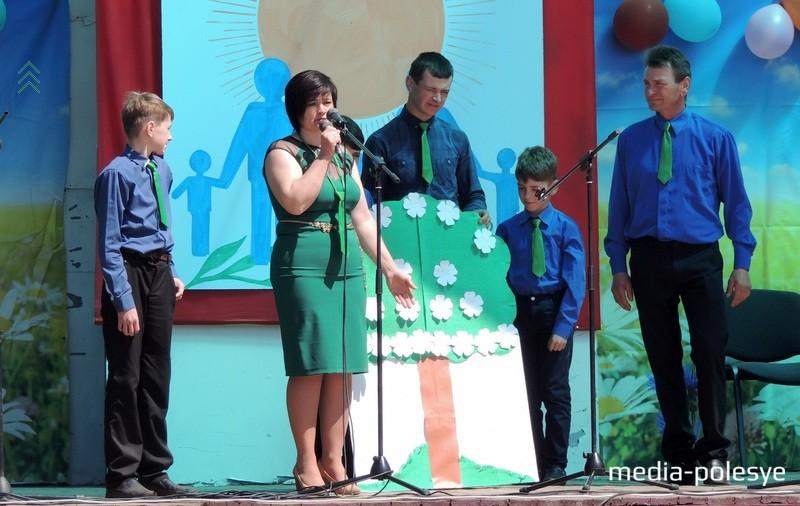 В семье Вабищевич из Рубля воспитываются четверо сыновей