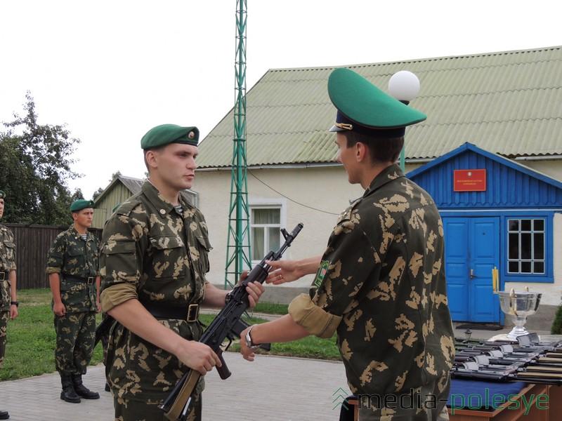 Этот солдат проходит срочную службу на погранзаставе «Городная»