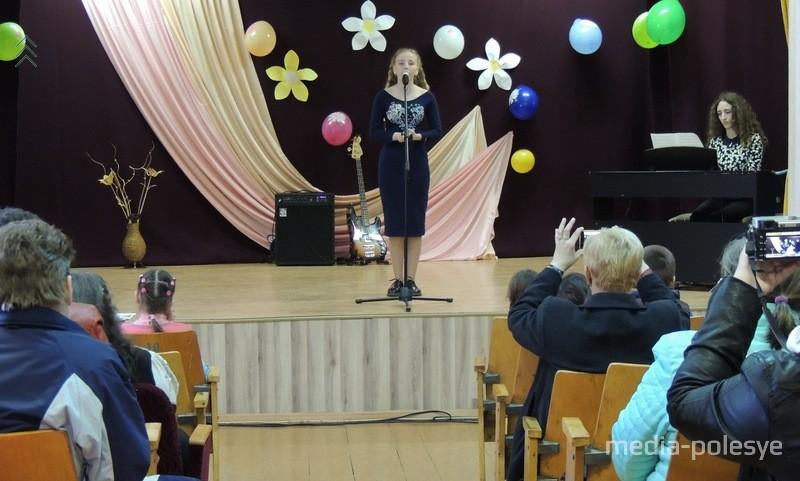 Выступление Виктории Подун