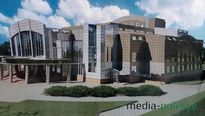 Проект Дворца культуры остался проектом