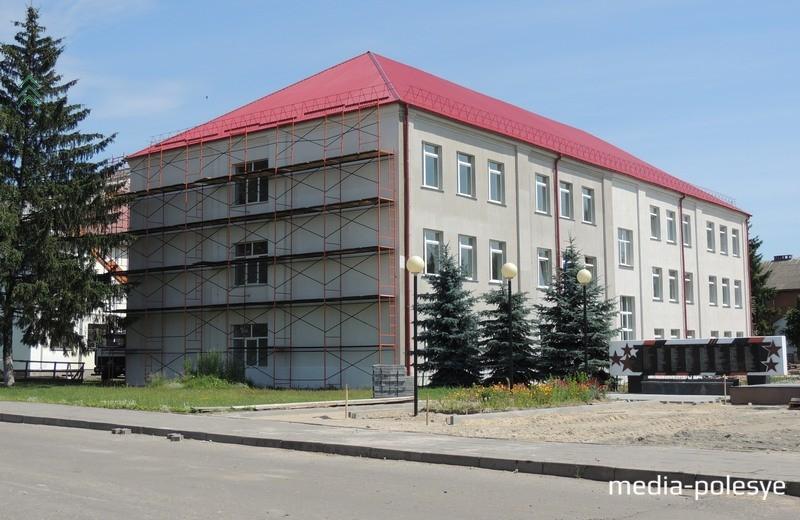 Ремонт СШ №1 г.Давид-Городка