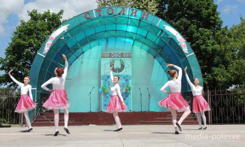 Танцавальны калектыў Столінскай дзіцячай школы мастацтваў «Баттерфляйки»