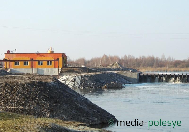 На гидроузле «Стахово», что на Припяти в Столинском районе, введут в эксплуатацию мини-гидроэлектростанцию
