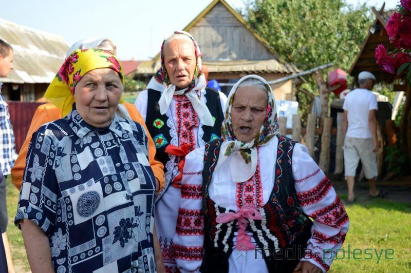 Жительницы Дятловичей