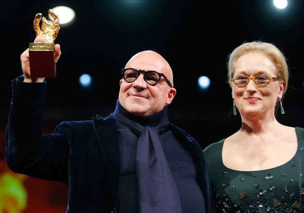 Джанфранко Рози и Мэрил Стрип. Фото: Reuters