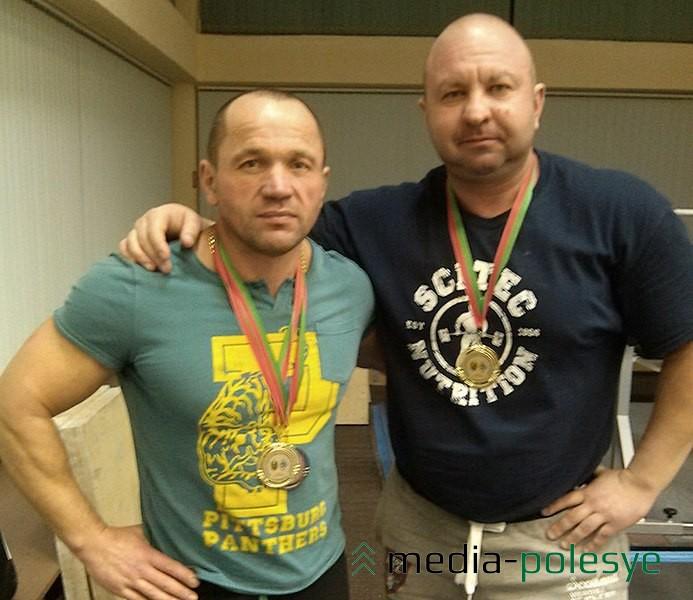 Евгений Морозов и Анатолий Марковиченко показали достойные результаты. Ветеранами их трудно назвать