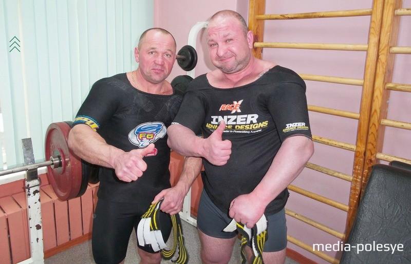 Евгений Морозов и Анатолий Марковиченко