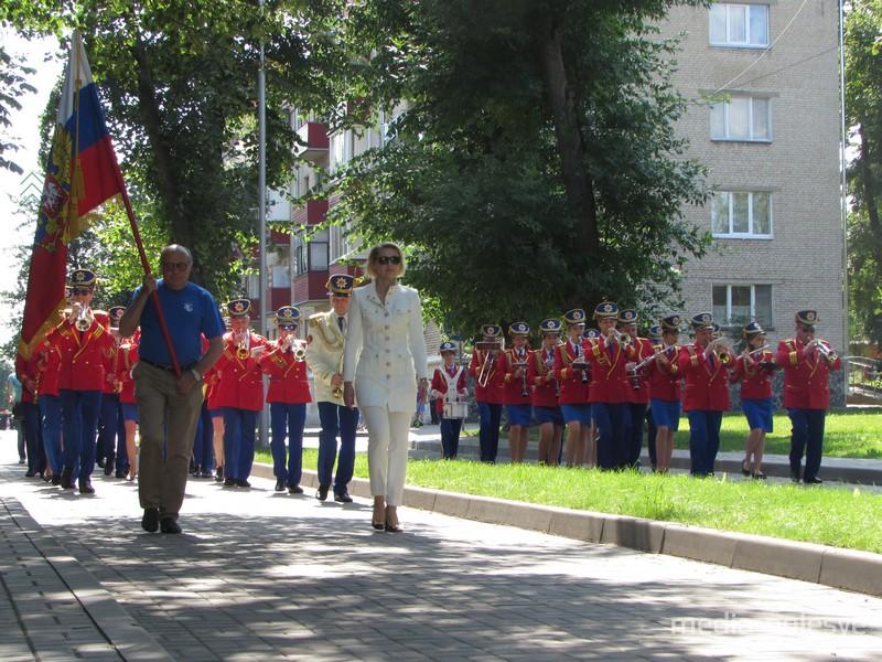 Духовой оркестр Истринского Дома культуры из Московской области.