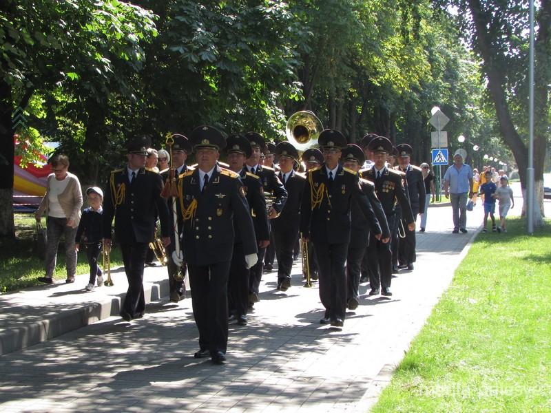 Заслуженный коллектив Беларуси образцово-показательный оркестр внутренних войск МВД