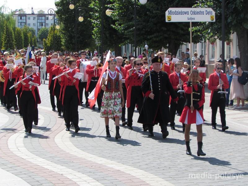 В Пинске зазвучала «Фанфара Полесья»