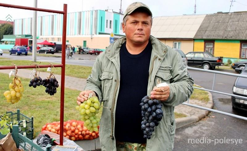 Руслан Рудинский и его виноград