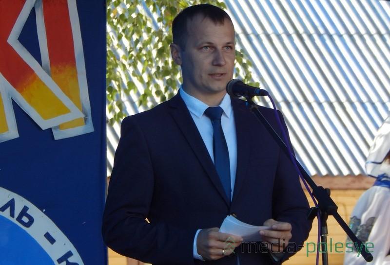 Александр Савина благодарит тружеников села