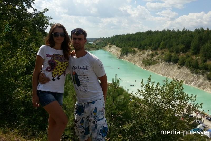 Анна и Юрий на Белорусских Мальдивах