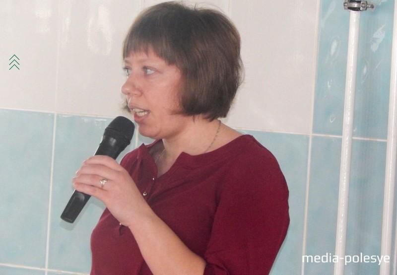 Приветственное слово и пожелания спортсменам от директора бассейна Татьяны Симончик