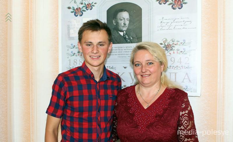 С классным руководителем Валентиной Степановной