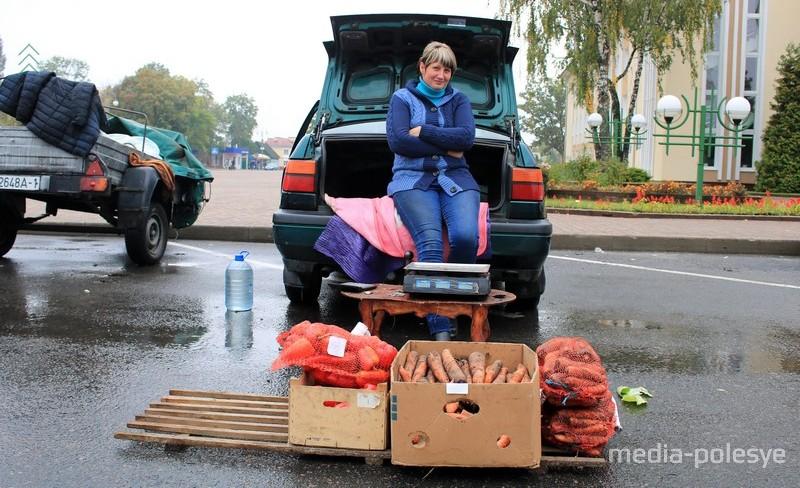Татьяна (д.Хотомель). Овощи со своего огорода