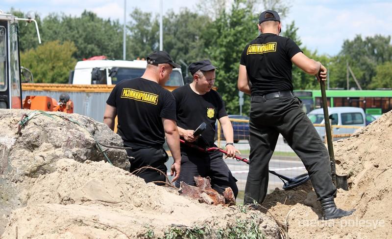 Под окнами новостройки в Пинске таился склад боеприпасов
