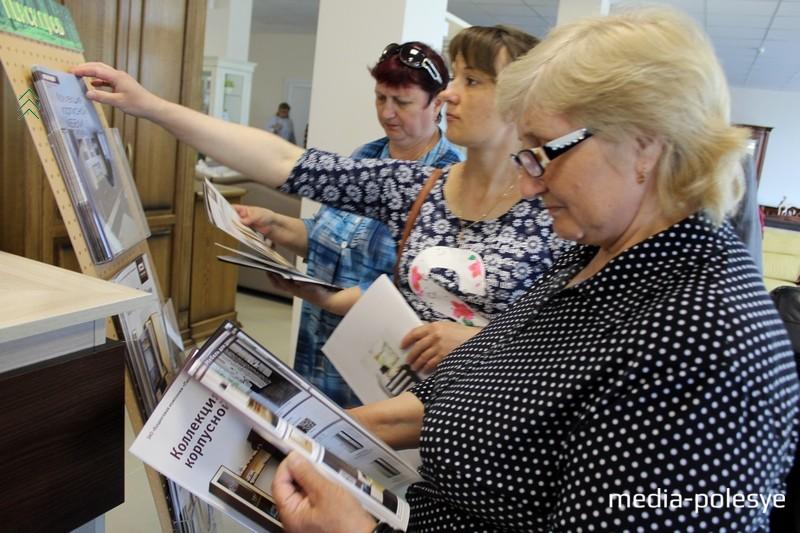 Каталоги «Пинскдрева» заинтересовали покупателей