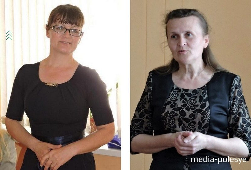 Галина Абрамчук и Наталья Лазько