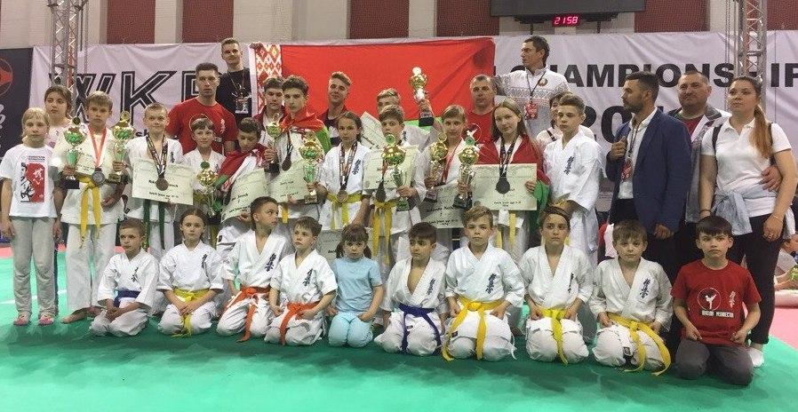 Каратисты из Столина вошли в состав сборной Беларуси на чемпионате Европы. Фото со странички Д. Мумрикова ВК