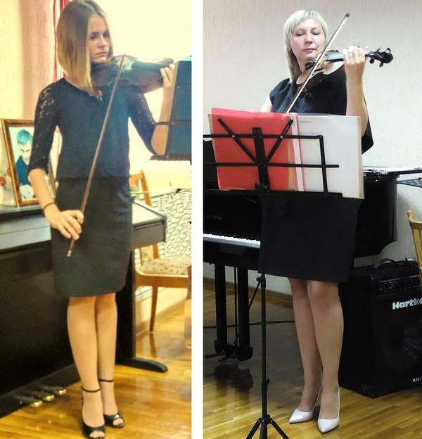 Аня и Ольга Белоус