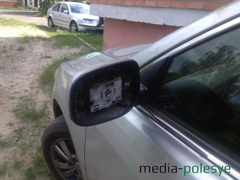 Зеркала также пользуются спросом у похититей