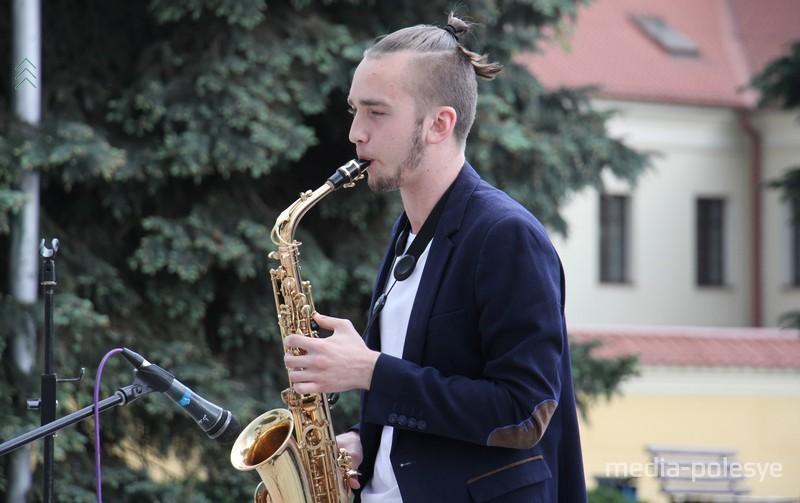 Роман Сорокин из ПолесГУ