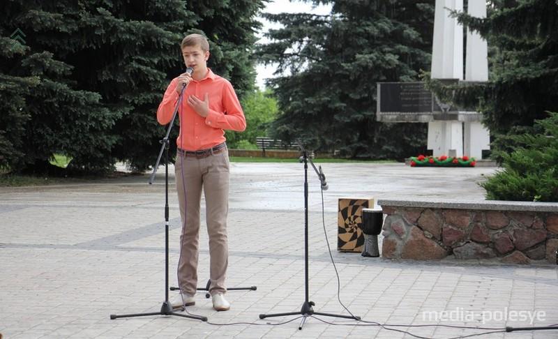 Сергей Бонцевич декламировал стихи