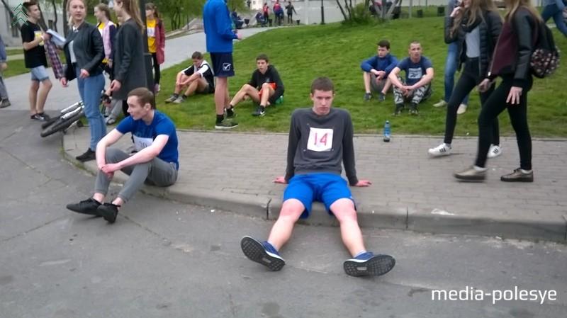 После финиша