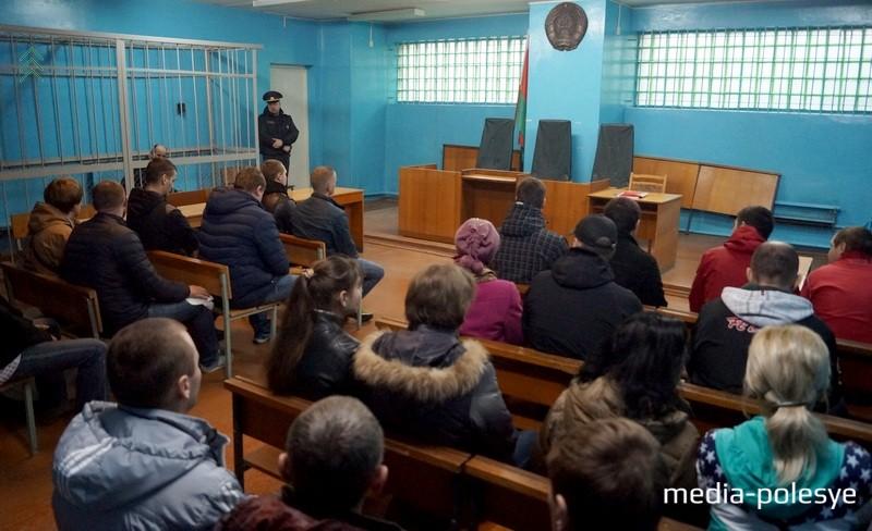 На суд пригласили более 30 нарушителей режима отбывания наказания