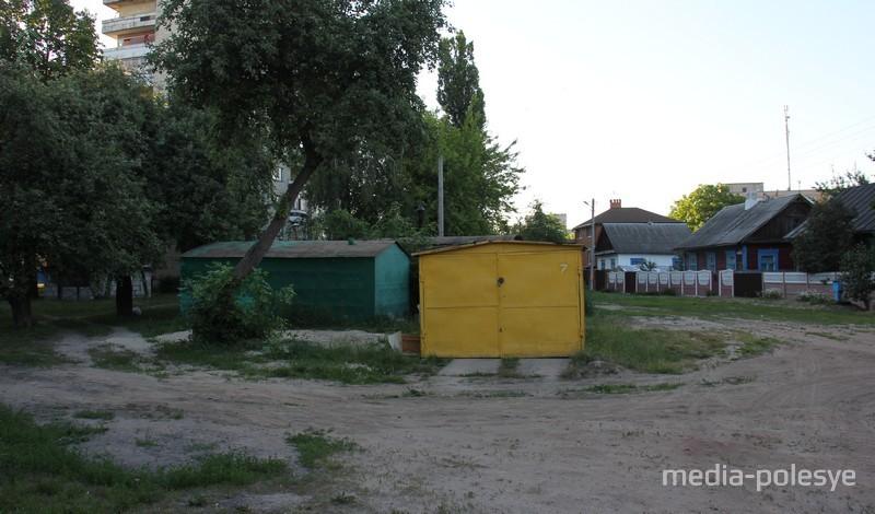 Те самые гаражи