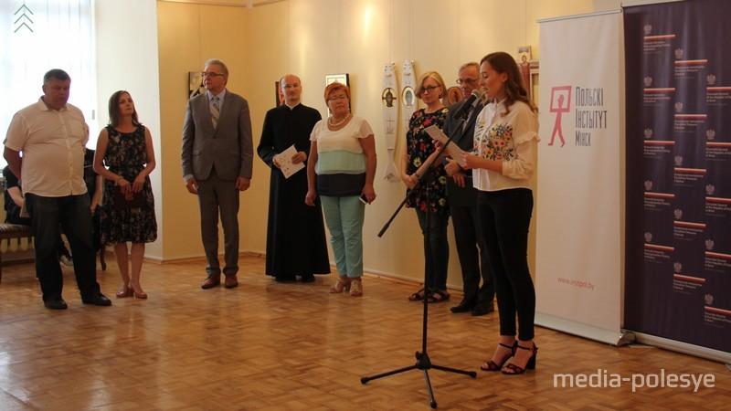 На открытии выставки присутствовали представители местных властей, польского консулята и института, руководство пинской католической епархии и духовной семинарии