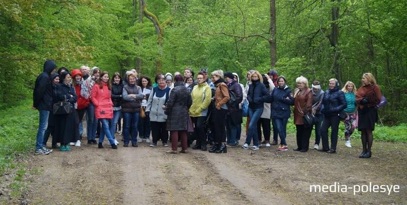 Экскурсия в парк Скирмунтов у деревни Поречье