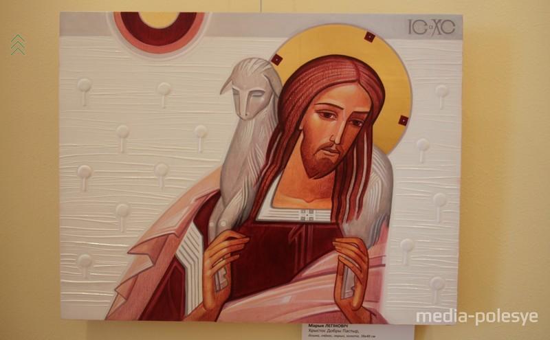 Мария Легинович (Украина) «Христос добрый пастырь»