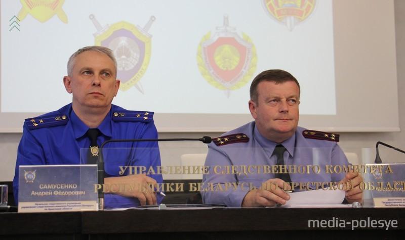 Андрей Самусенко (слева): один из обвиняемых через 2.5 месяца указал место, где выбросил пистолет. Также следователи выявили сообщника преступной группы