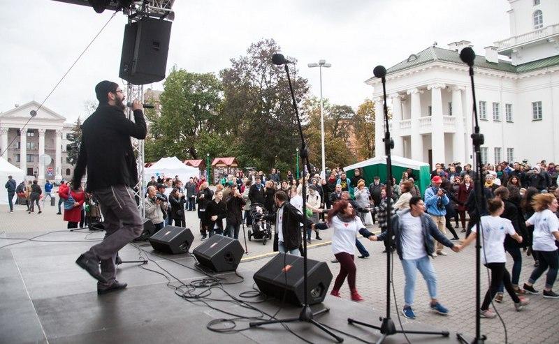 Выступление в Минске (со странички Пинхаса)