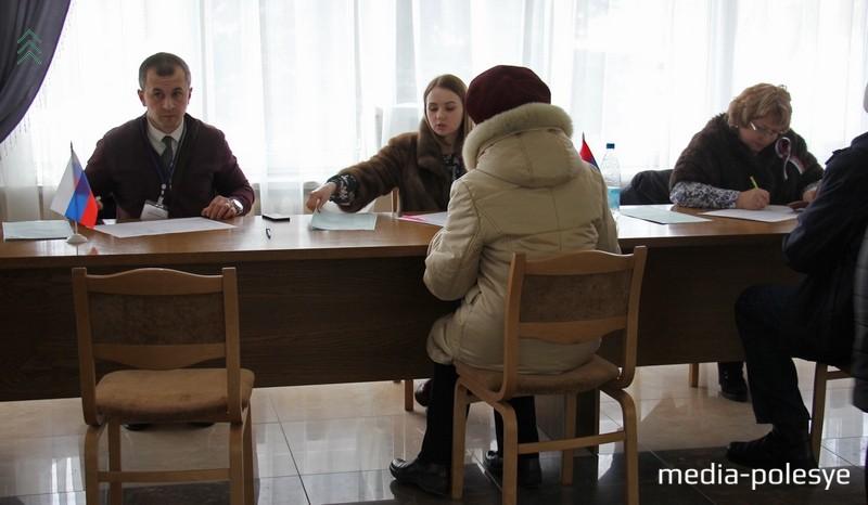 Аномальная явка на выборах президента России в Пинске