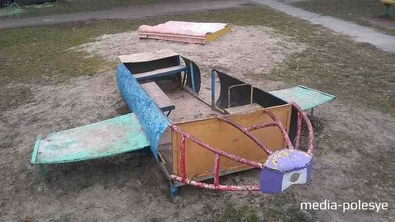 Таким был демонтированный самолет