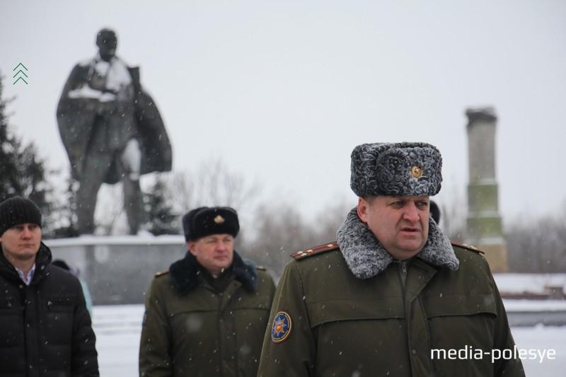 Начальник Пинского ГРОЧС Вячеслав Лозюк