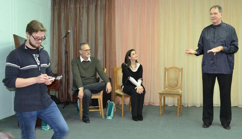 Американцы общаются с пинчуками, рассказывают о себе, фото Pinsk Info USA