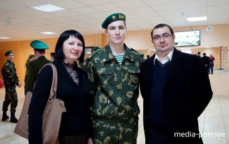 Семья Макей - Ирина, Илья, Сергей