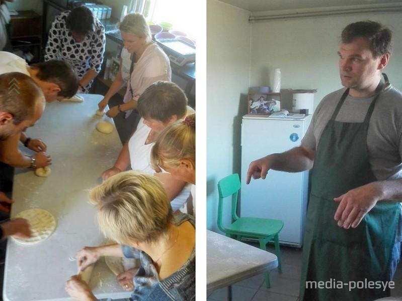 Каждый попробовал себя в роли пекаря
