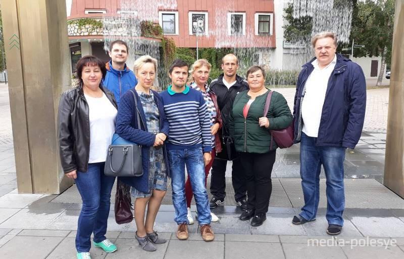 Участники поездки со Столинщины