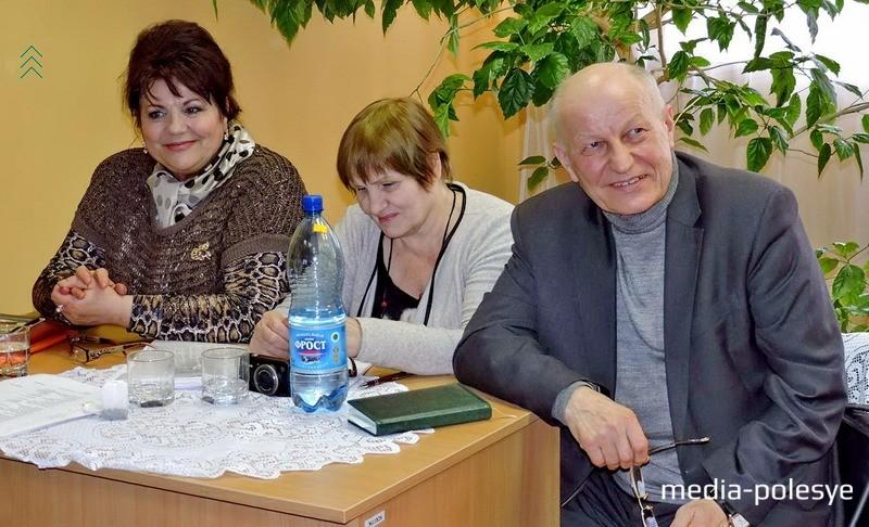 Анна Бондаренко, Любовь Красевская, Андрей Мазько
