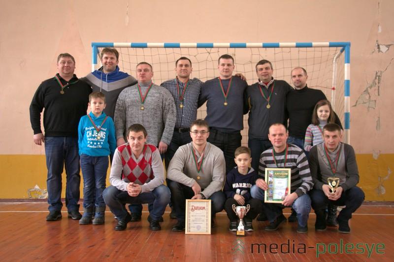 Бронза и приз зрительских симпатий Медиа-Полесья у команды «Базар», которая в прошлом году была четвёртой