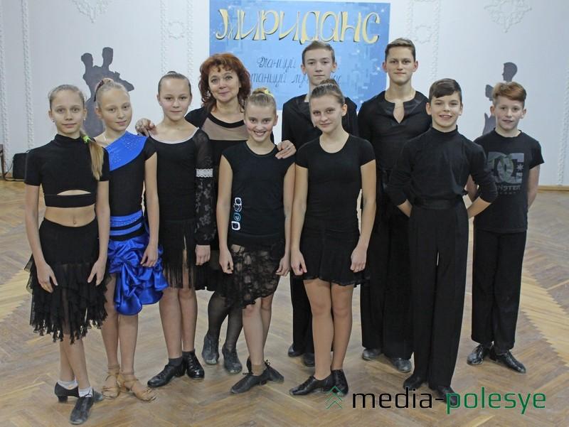 Танцоры старшей группы в большинстве пришли в коллектив в 6-летнем врзрасте