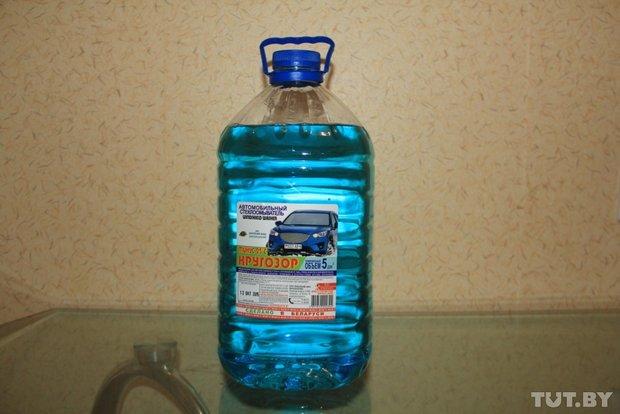 На заправке сети «Белоруснефть» куплена жидкость «Кругозор»