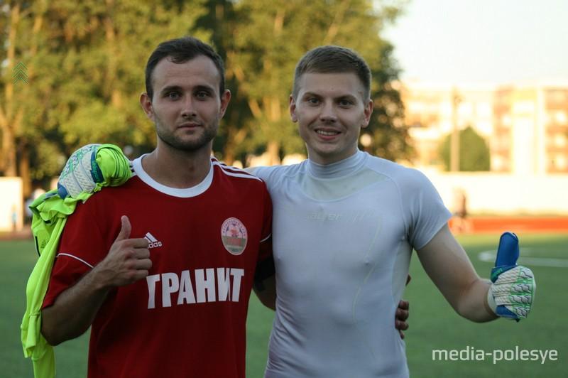 Кирилл Вайтехович и Максим Хутко рады долгожданной победе