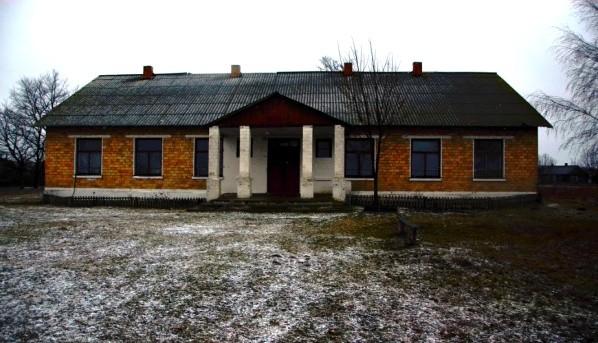 Клуб в деревне Ботово